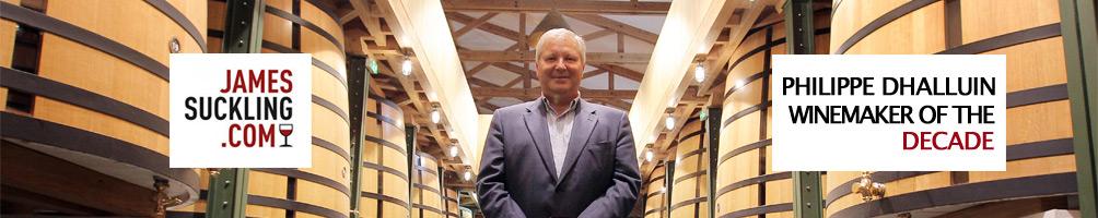 Philippe Dhalluin winemaker decade James Suckling