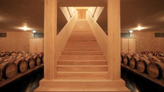 Escalier chai Clerc Milon