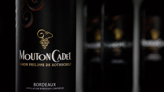 Mouton Cadet red wine vin rouge Bordeaux