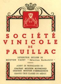 société vinicole de Pauillac vignette